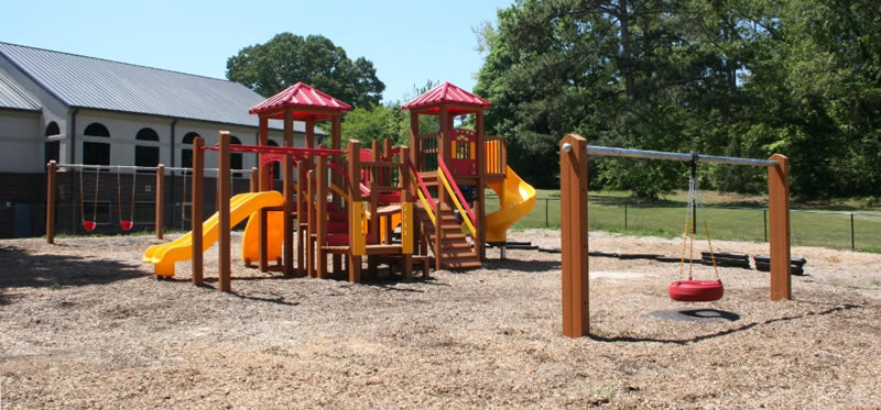 Green Play Parks custom 5-12 play set design image